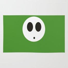 SHY GUY(GREEN) Rug