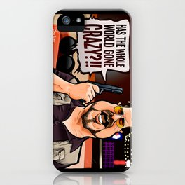 Over the Line! iPhone Case