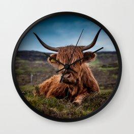 Beef Nature Wall Clock