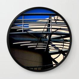 E V - Metal On Metal Wall Clock