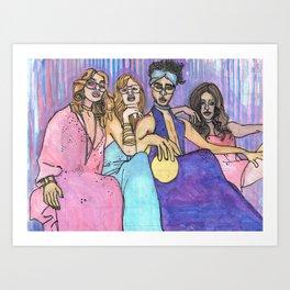 Disco Fever Art Print