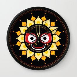 Lord Jagannatha. Wall Clock