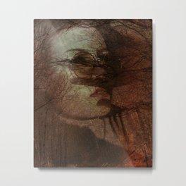 Autumn portrait Metal Print