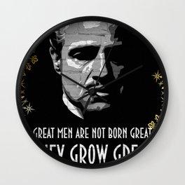 Don Corleone Wall Clock