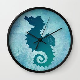 Seahorse of a Different Color ~ Marine Life ~ (Copyright 2015) Wall Clock