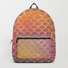 Bling Purple & Pink Pattern Backpack