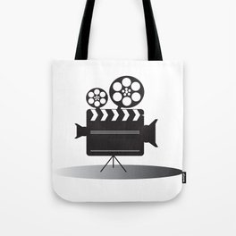 Video Camera Tote Bag