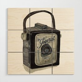 Imperial Camera 620 Wood Wall Art