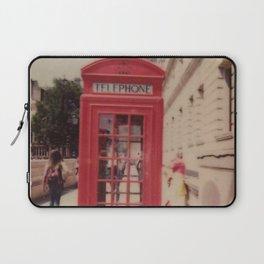 London Telephone Booth Laptop Sleeve