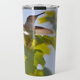 Hummingbird Chirping Away Travel Mug