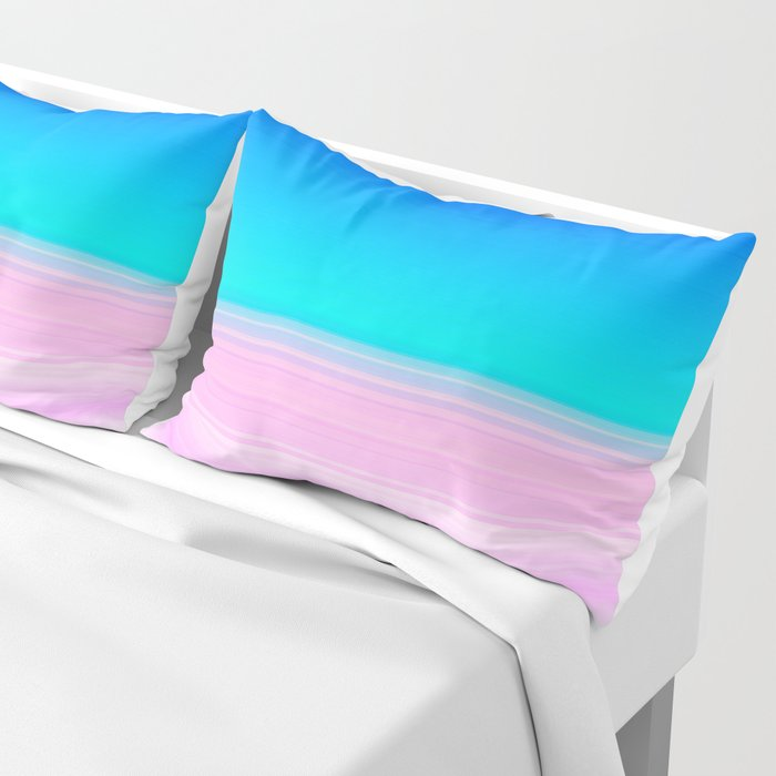 Unicorn Ombre Pillow Sham