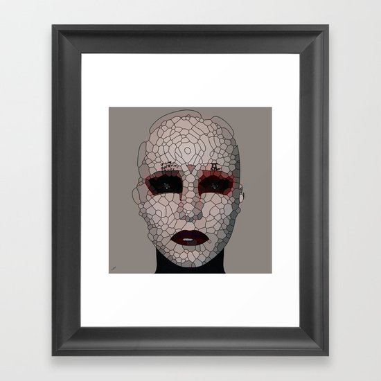 Reconstruction Framed Art Print