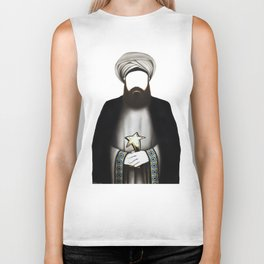 """MUHAMMAD      """"The Planet Earth Awards, Beyond Superstition"""" Biker Tank"""