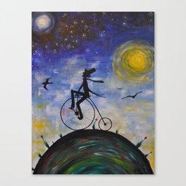 Evening Bike Ride Canvas Print