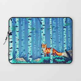 Fox and Birches Laptop Sleeve