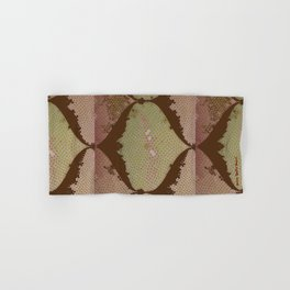 BROWN IZNIKY Hand & Bath Towel
