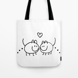 LOVE AND SHIT HAPPENS Tote Bag