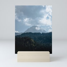 Picture of the layers in the mountains I | A journey through the Dolomites, Italy Mini Art Print