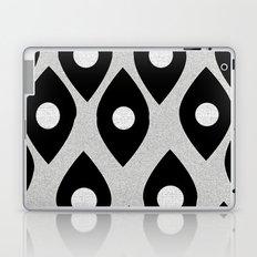 Black and White Pattern Fish Eye Design Laptop & iPad Skin