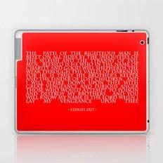 Ezekiel 25|17 Laptop & iPad Skin