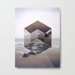 Abstract Landscape, Sea, Beach Metal Print