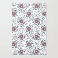 wallpaper Canvas Prints featuring Wallpaper  by Truly Juel