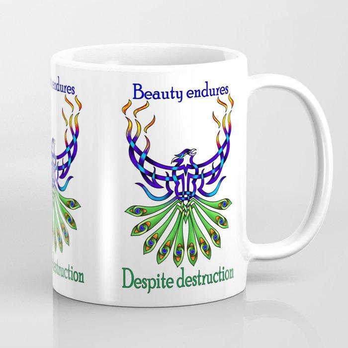 Beauty and Strength Coffee Mug