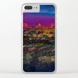 Spectacular Canyon Clear iPhone Case