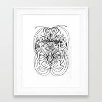 ladybug Framed Art Prints featuring Ladybug. by sonigque
