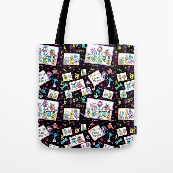 Monster Photo Booth Tote Bag
