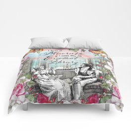 Excellent Library - Pride and Prejudice Comforters