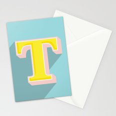 T is for .... Stationery Cards