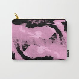Abstract distortion (Magenta version) Carry-All Pouch