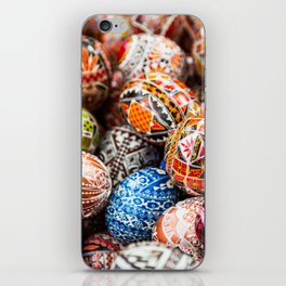 Handpainted Eggs iPhone Skin