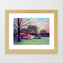 Sunrise Over Chapel Orchard (*Koinonia*) Framed Art Print