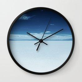 World Upside down Wall Clock