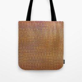 Square textured wicker Tote Bag