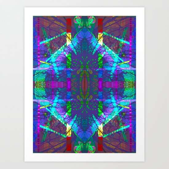 Position of the Horse Shoe Art Print