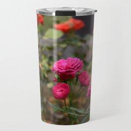 Button Roses Travel Mug