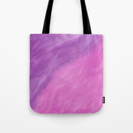 Abstract modern pink violet watercolor paint Tote Bag