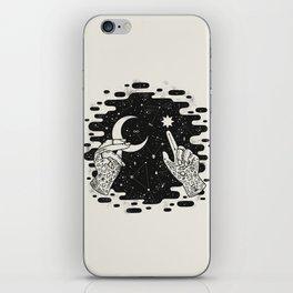 Look to the Skies iPhone Skin