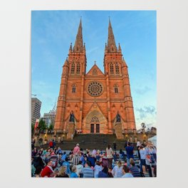 St Mary's Cathedral, Sydney Poster