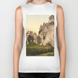 Vintage Photo-Print of Donegal Castle (1900) Biker Tank
