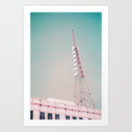 Los Angeles - Pacific, Hollywood Art Print