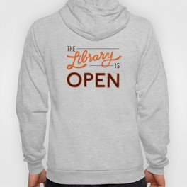 The Library is Open Hoody