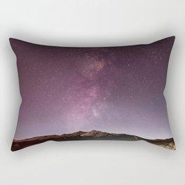 Milky Way Landscape Rectangular Pillow