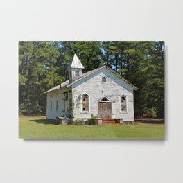 Reaves Chapel Metal Print