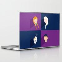 frozen Laptop & iPad Skins featuring Frozen by laurenschroer