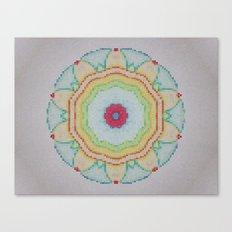 Mosaic Mandala Canvas Print