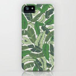 Savusavu Tropical Print iPhone Case